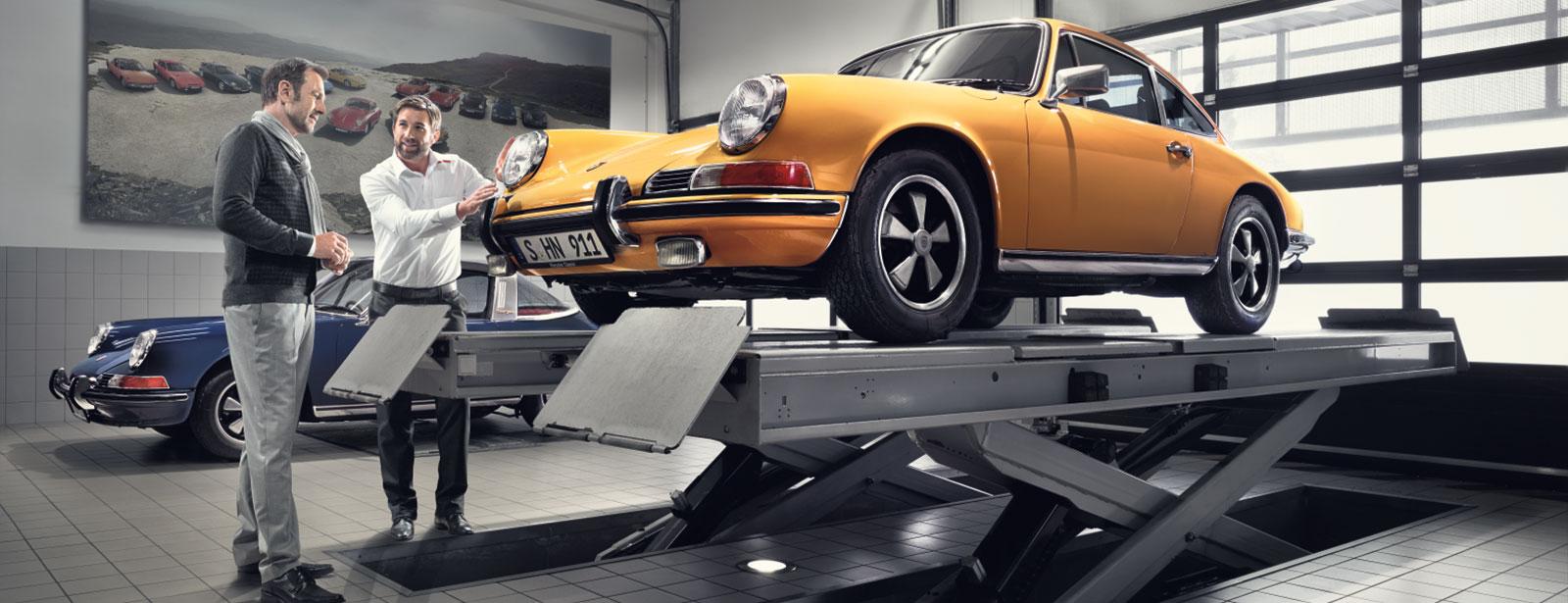 Porsche Classic Check und Gutachten