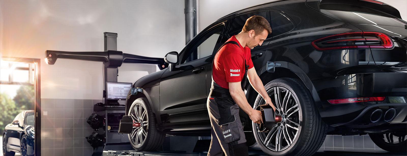Achsvermessung für Ihren Porsche