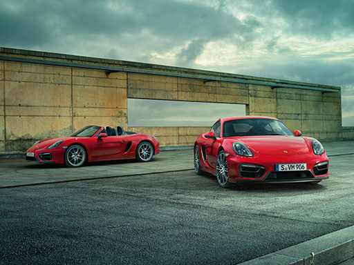 Purist. The new Boxster and Cayman GTS
